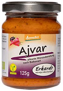 Erhardt Naturkost - Demeter Ajvar