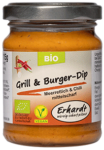 Erhardt Naturkost - Bio Grill + Burger-Dip